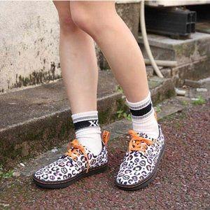 Dr. Martens Leopard Animal Print Loafers